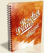 Rocket Piano Gospel Book