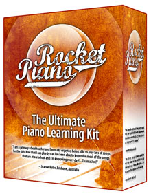 Rocket Piano Product Box