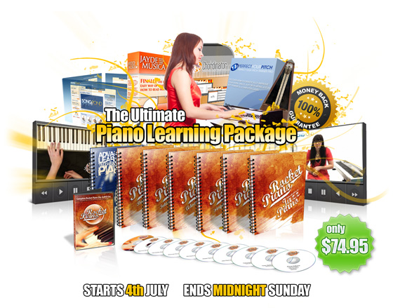 Rocket Piano July Promotion